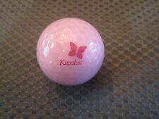LOGO GOLF BALL-KAPALUA GOLF RESORT............HAWAII.....PINK BALL