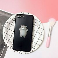 Squishy 3D Cute Silicone Cat Kneading Phone Case Cover For Apple iPhoneX 7/8Plus