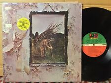 Led Zeppelin IV EX GATEFOLD STILL IN SHRINK +Stairway & Track List HYPE STICKER
