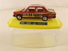 Mira ref 4011 SEAT 131 Rallye #8 jamais joué boxed/en boîte 1/43