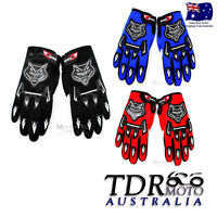 Adult Men Women Lady MX Motocross Motorbike Racing Gloves BMX/ATV/QUAD/Dirt Bike