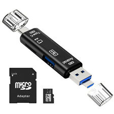 3in1 32GB TF Flash Memory Card Type C USB OTG Multi Card Reader With SD Adapter