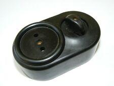 Bakélite Interrupteur + prise de courant tenue d'apparat Interrupteur association AP commutateurs rotatifs
