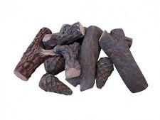 9pc Great Ethanol Fireplace Ceramic Decoration wood Free Postage