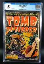 Tomb of Terror #15 Pre-Code Horror Classic Exploding Face 1954 KEY CGC 0.5