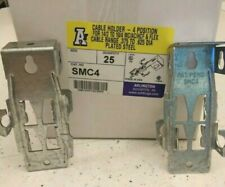 Arlington Industries SMC4 4-position Cable Holder box of 25