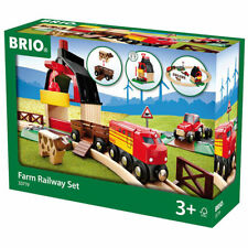Brio 33719 farm railway set jouets en bois