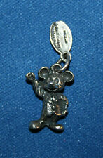 Vintage 3D Disneyland Charm of Mickey Mouse with Tag