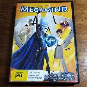 Megamind DVD R4 LIKE NEW FREE POST