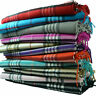 X'mas gift Men Women 100% CASHMERE Feel Scarf Winter Plaid Check Wool Scarves