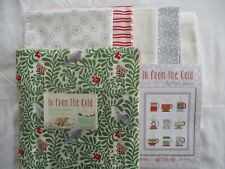 "Moda Quilt Kit ""Hot Cocoa"" using Moda ""In From the Cold"" Fabric by  Kate Spain"