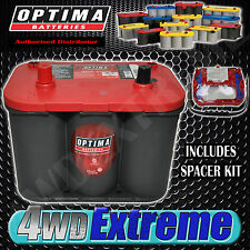 OPTIMA 34 RED TOP BATTERY 12 VOLT NEW AGM 34 800CCA HIGH PERFORMANCE START POWER