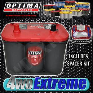 OPTIMA 34 RED TOP BATTERY 12 VOLT NEW AGM 34 815CCA HIGH PERFORMANCE START POWER