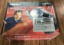 """NEW Maxtor Ultra Series 200GB  ATA/133 3.5"""" HARD DRIVE  7200RPM  NIB"""
