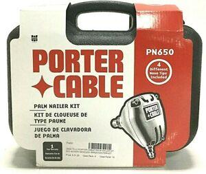 Porter Cable Palm Nailer Kit Tool, Nail Gun Range 1-1/4 to 6-1/2 Inches PN-650