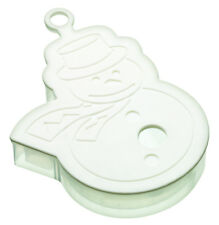 Kitchencraft niño seguro grande 3D Pie de imprenta Galleta & Cookie Cutter-Hombre De Nieve