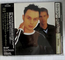 SAVAGE GARDEN - Truly Madly Deeply JAPAN CD OBI SRCS-8535