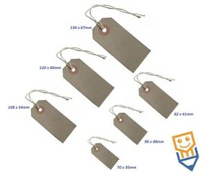 LARGE TAGS WITH STRING Hardware PRICE DESCRIPTION LABEL Reinforced Eyelet