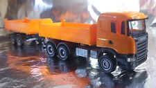 * Herpa 306034  Scania R construction tandem axle dump trailer 1:87 Scale