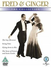 FRED AND GINGER COLLECTION VOL 2 - 2003 4-DISC SET FRED ASTAIRE NEW REGION 2 DVD