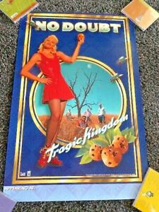NO DOUBT Tragic Kingdom album / tour 20x30 poster PROMO ONLY 1994 OOP RARE MINT