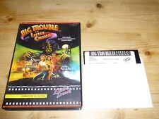 Big Trouble in Little China-disque version Commodore 64 (C64)