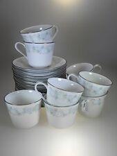 Noritake Blue Charm 9 Cups & 14 Saucers