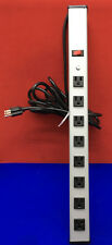 WIREMOLD UL300BD RELOCATABLE POWER TAP 8-OUTLET STRIP 15' CORD