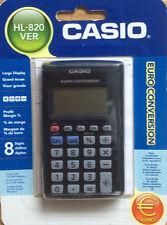 CASIO HL-820VER CALCULATOR SCHOOL OFFICE SUPPLY POCKET CALCULATOR € CONVERSION