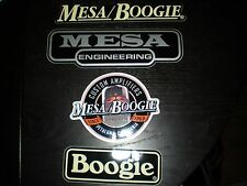 MESA BOOGIE AMPS CUSTOM LOGO STICKER SET 4 PCS