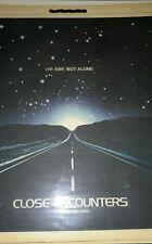Close Encounters of The Third Kind ('77) Original 2pg Print Advert