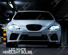 SEAT LEON Mk1 Mk2 LED XENON WHITE 6000k HEADLIGHT BULBS H7 DIPPED BEAM LAMP