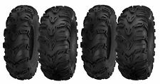 (2) 25x8-12 & (2) 25-10-12 New Sedona Mud Rebel All Terrain 6-Ply ATV/UTV Tires