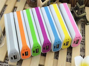 2600mAh USB Power Bank  External Backup Battery Charger Box Case For Phone