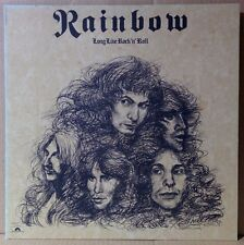 RAINBOW / LONG LIVE ROCK 'N' ROLL LP Gatefold w/Insert JAPAN ISSUE