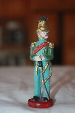 "Vintage Old World Lead Soldier W/ Sword out of Scabard 88mm High 3 3/8"" X 1"""