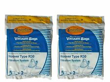 10 Hoover R30 Allergy Canister Vacuum Cleaners Bags + 4 Filters, 40101002