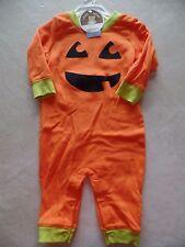 NEW baby boys girls unisex PUMPKIN OUTFIT halloween CARTER'S costume 0-3 MONTHS