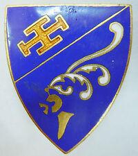 Insigne Armée de Air Escadron de Chasse 1/7 Provence Augis émail ORIGINAL