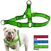 Reflective Front Clip Nylon Dog Harness Mesh Padded Pet Dog No Pull Walking Vest