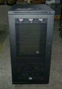 "SR24UB SmartRack 24U Mid Size Server Rack Enclosure Cabinet Tripp Lite 33"" Deep"