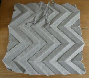 Issey Miyake iittala Finland Light Grey Pleated Foldable Tote Bag (BNWOT)