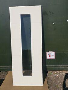 DGM2260 Howdens Metro Smooth Glazed 2'6 Int. Door
