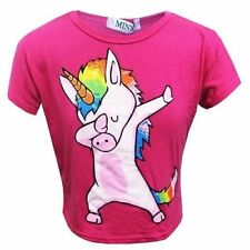 Camisetas y tops de niña de 2 a 16 años rosas negras