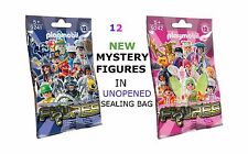 PLAYMOBIL 9241  9242 SERIE 12  MYSTERY FIGURES   IN UNOPENED SEALING BAG