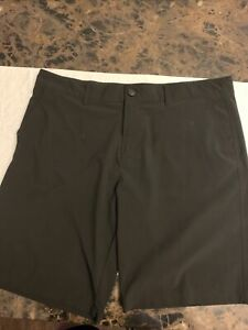 OP Ocean Pacific Flex 4-Way Stretch Black Board Shorts Size 38