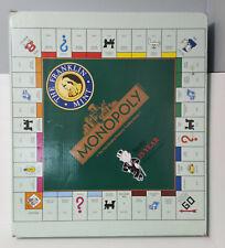 Franklin Mint Monopoly Board Game The Deluxe Edition Collectible NIB W/COA RARE!