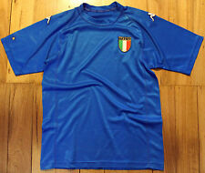 2002 Italy Home Soccer Football Shirt Jersey Mens Size M-L Made By Kappa