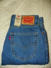 New Mens Athletic Taper 541 Levis Med Stonewash Blue Jeans 30x30 w/Tags MSRP-$69