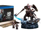 God of War Collector's edition Statue and extras Brand New (Read description)